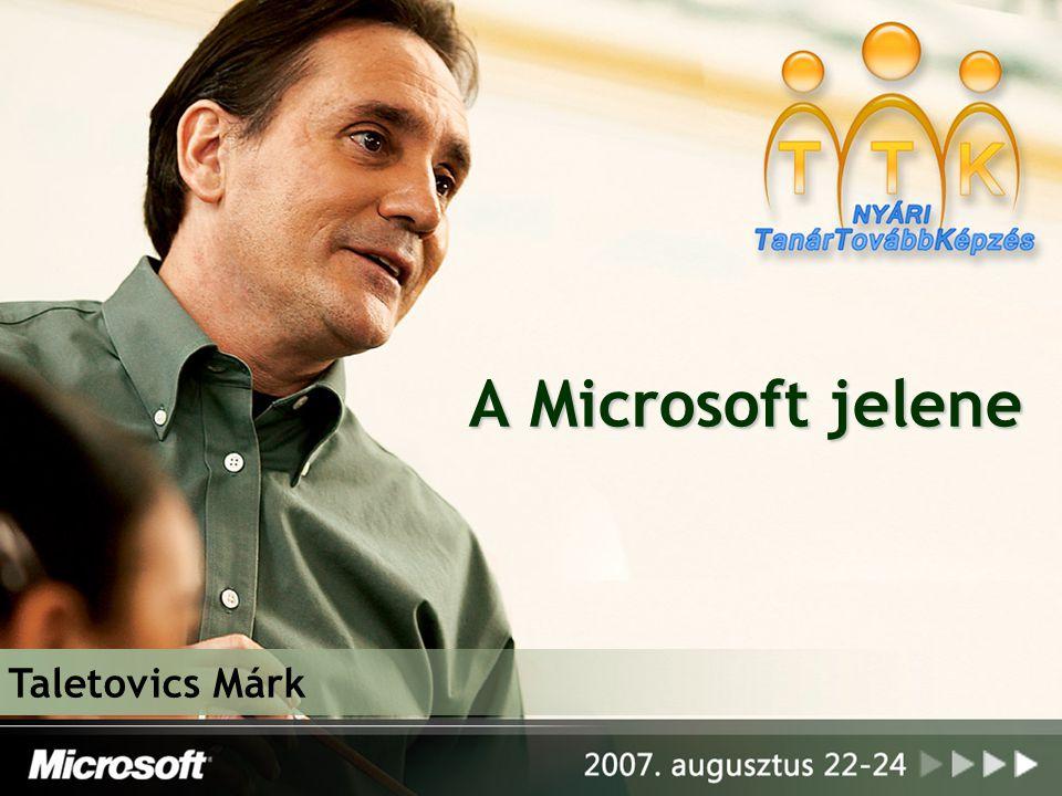 A Microsoft jelene Taletovics Márk