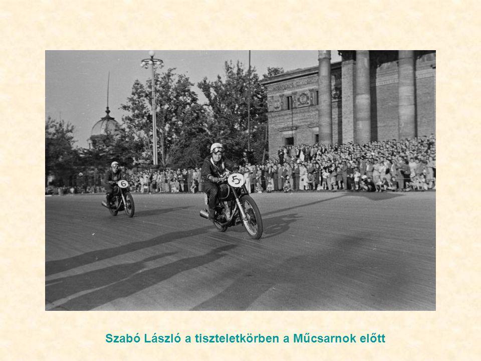 Szabó László vezet a Hősök terénél