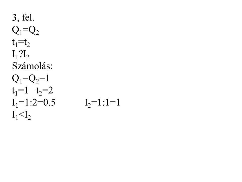 Fogyasztók soros kapcsolása u 1, R 1 u 2, R 2 u 3, R 3 I1I1 I2I2 I3I3 IkIk U k =9V IkIk I k =I 1 =I 2 =I 3 U=W:Q U k =u 1 =u 2 =u 3