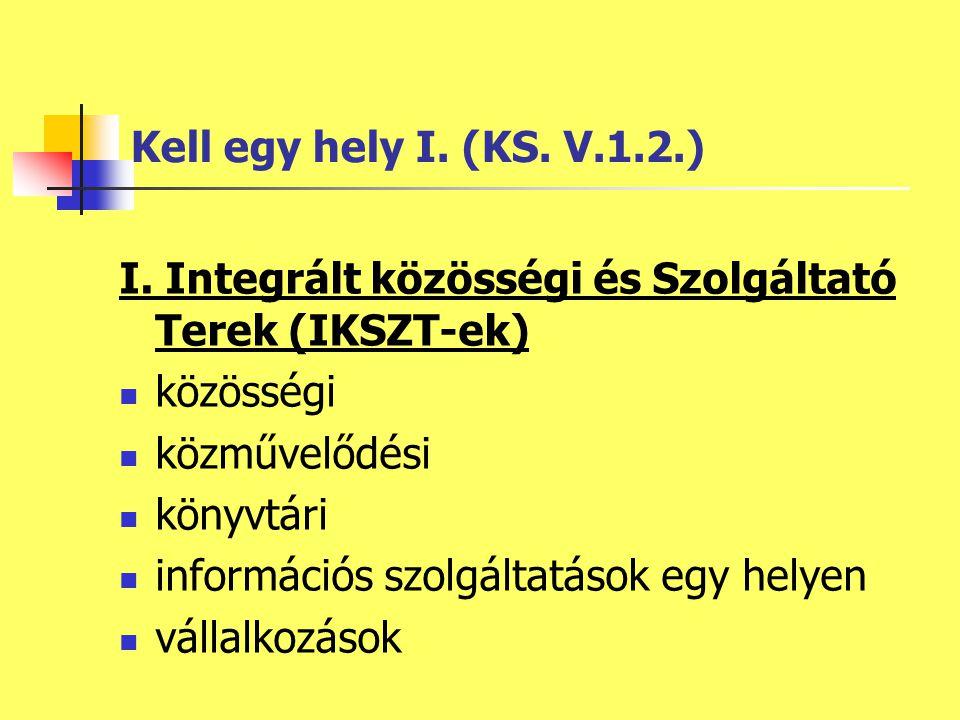 Kell egy hely I. (KS. V.1.2.) I.