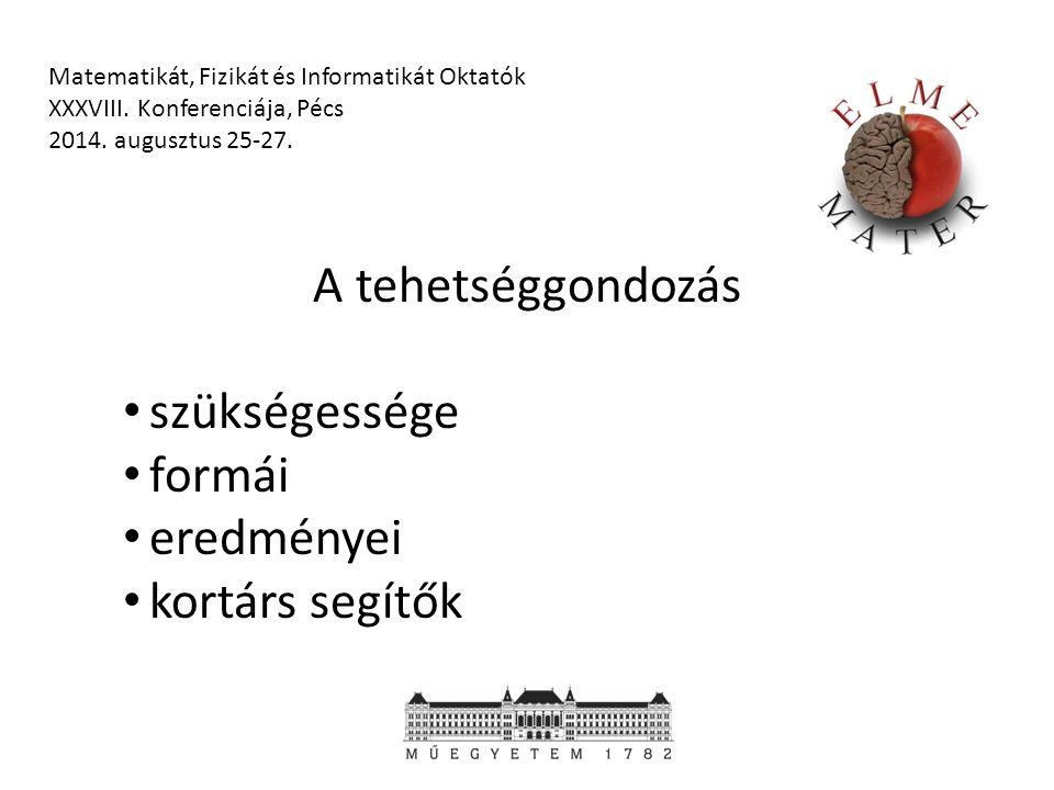 Anyagaink Egyetemi anyagok (213) 9-12.