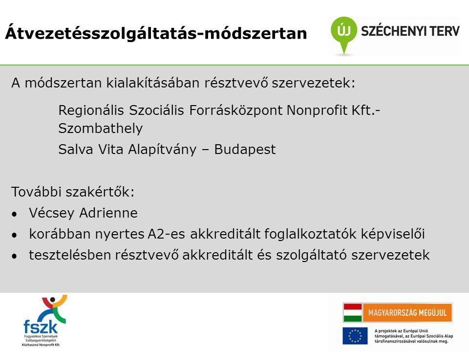 Köszönöm a figyelmet! bela.szilvia@fszk.hu Átvezetés munkacsoport – elérhetősége