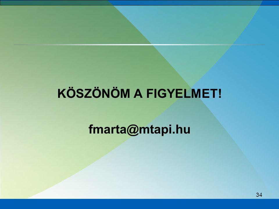 34 KÖSZÖNÖM A FIGYELMET! fmarta@mtapi.hu