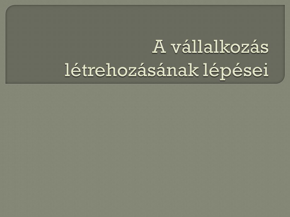 Bejelentkezések NAV - adószámot kaptok KSH Helyi önkormányzat (pl.