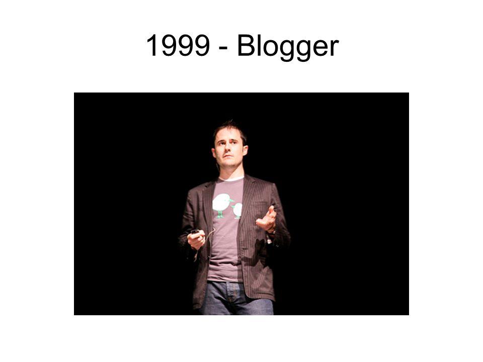 1999 - Blogger