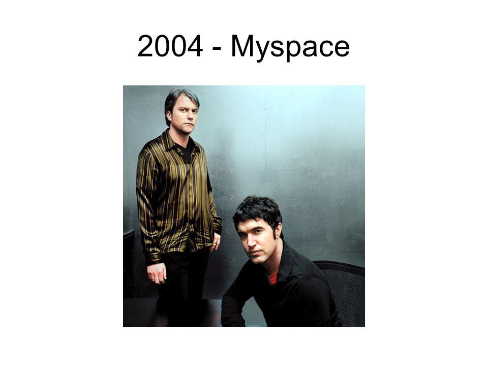 2004 - Myspace