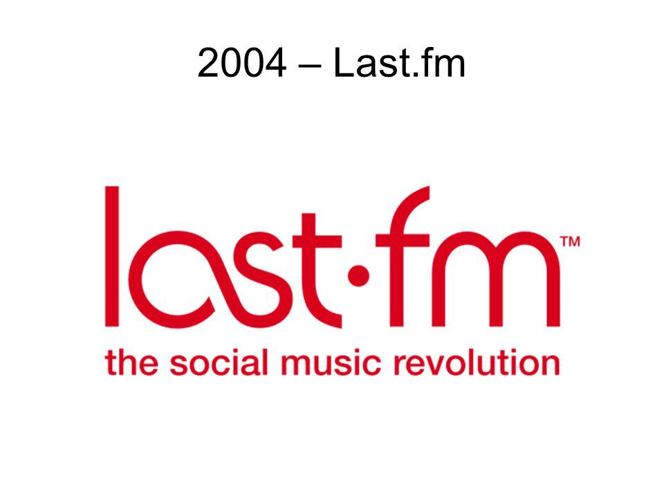 2004 – Last.fm