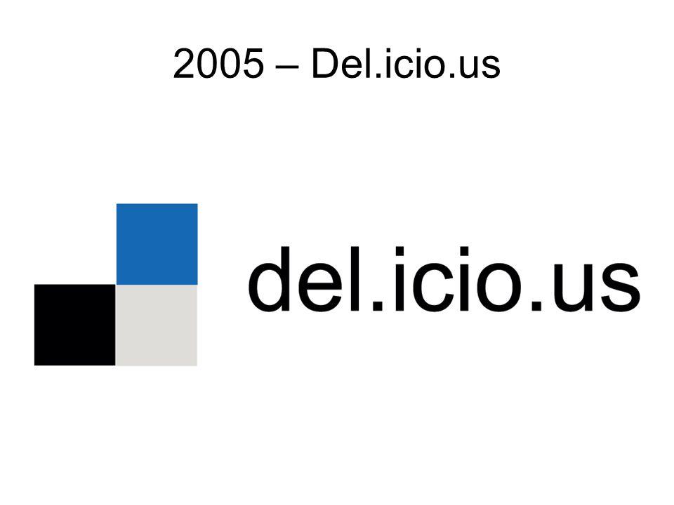 2005 – Del.icio.us