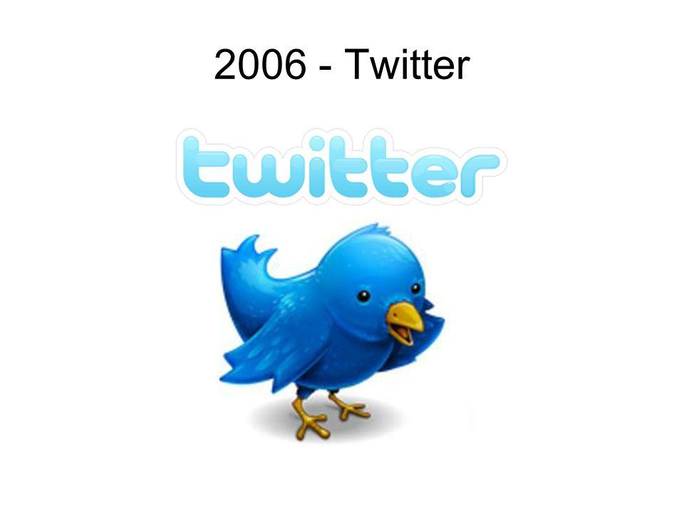 2006 - Twitter