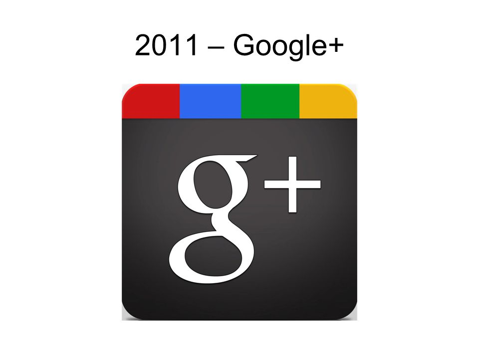 2011 – Google+