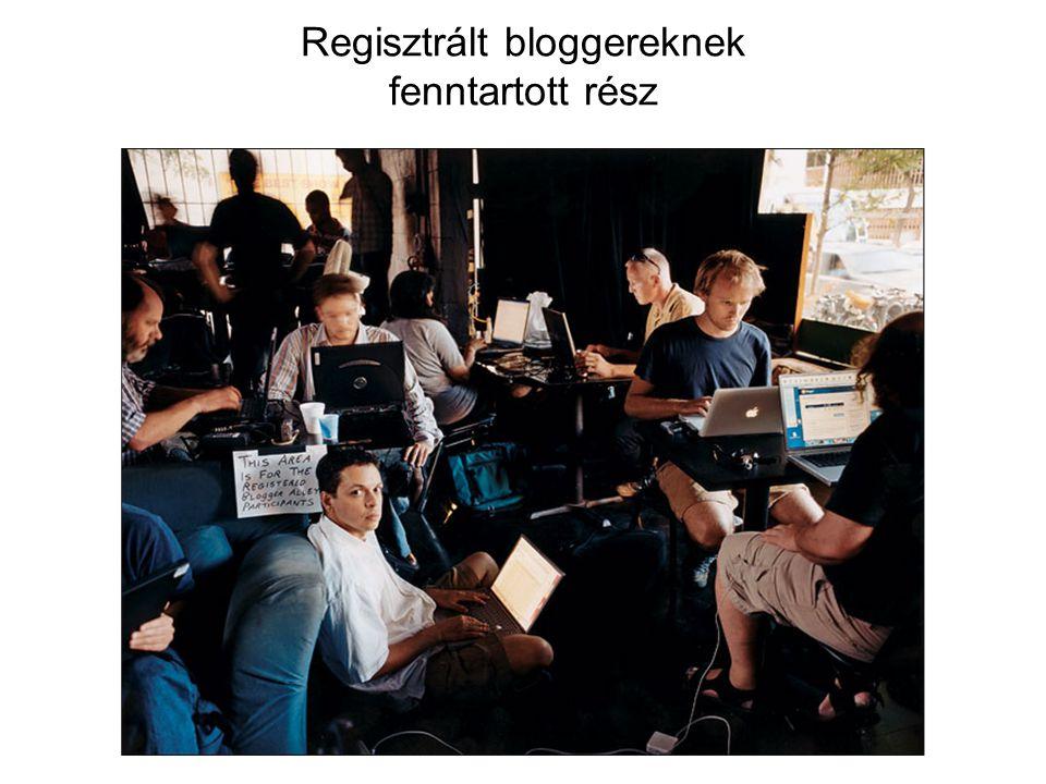 Regisztrált bloggereknek fenntartott rész