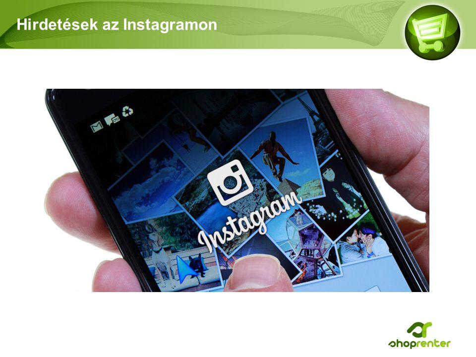 Hirdetések az Instagramon
