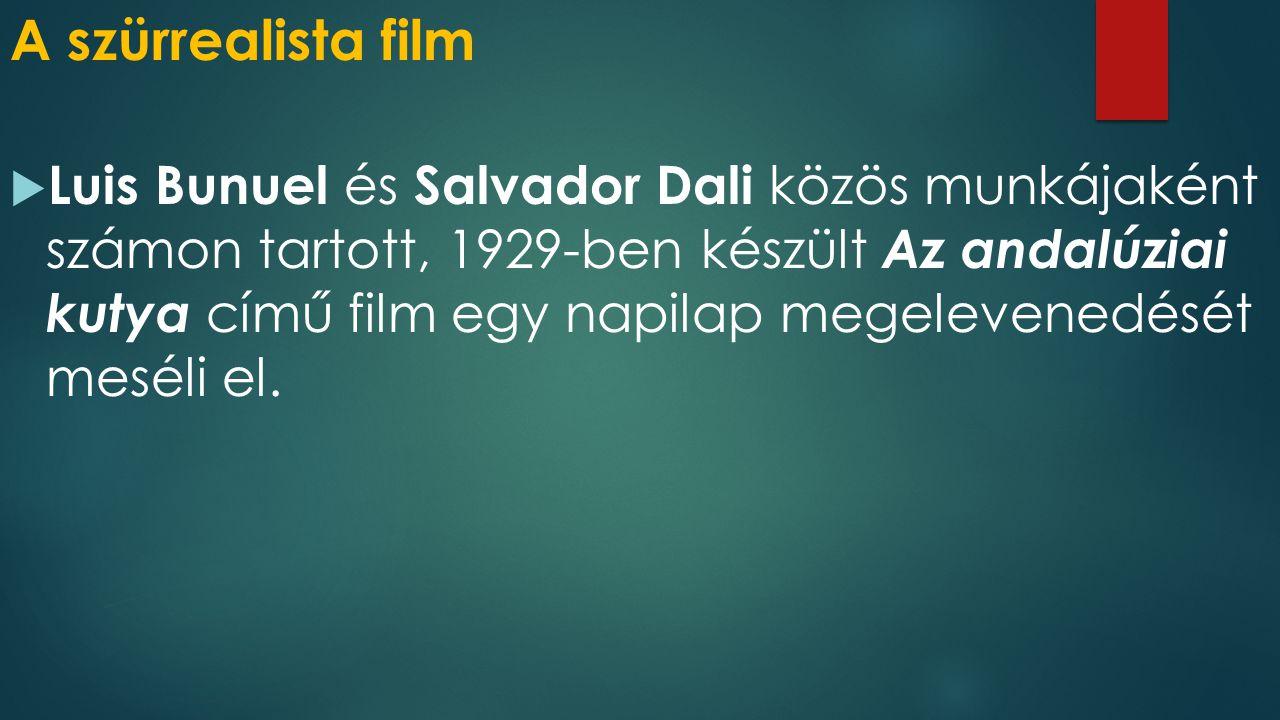 A szürrealista film  Luis Bunuel és Salvador Dali közös munkájaként számon tartott, 1929-ben készült Az andalúziai kutya című film egy napilap megelevenedését meséli el.