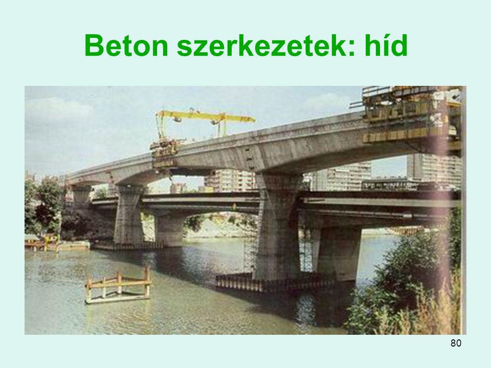 80 Beton szerkezetek: híd