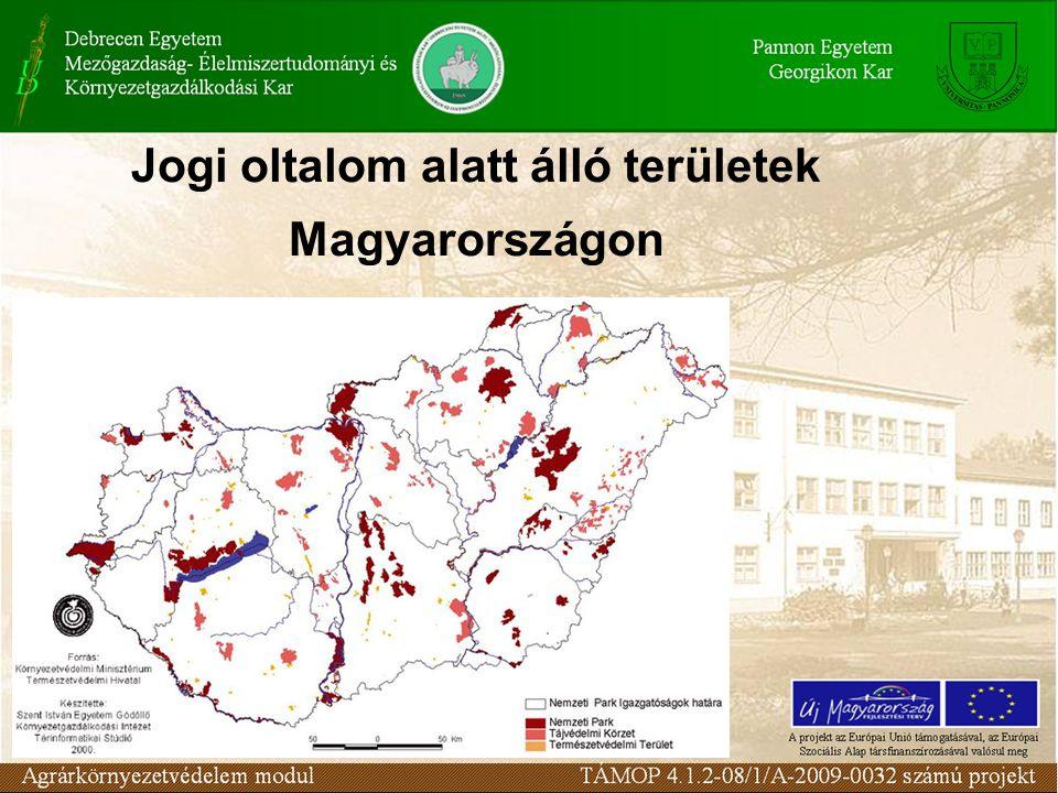 Jogi oltalom alatt álló területek Magyarországon