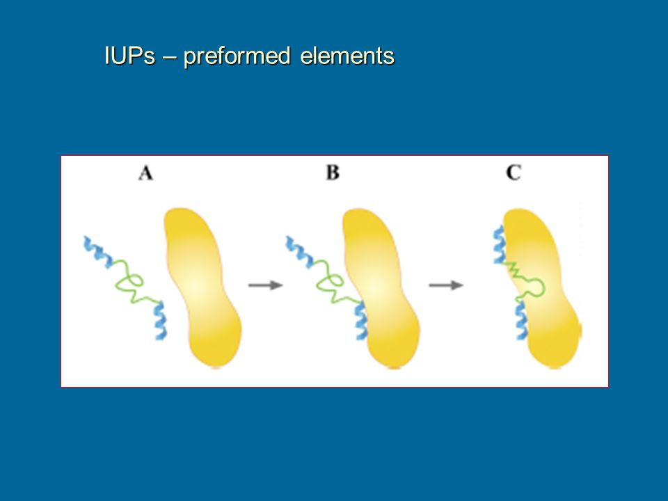 IUPs – preformed elements