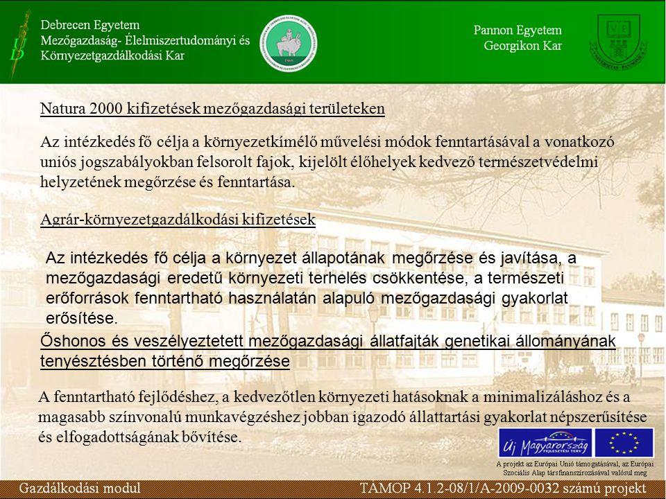 Az intézkedés fő célkitűzése az ország erdősültségének növelése, a mezőgazdasági szerkezetátalakítás elősegítése, az erdőterület és az erdők környezetvédelmi, gazdasági, szociális-közjóléti szerepének növelése.