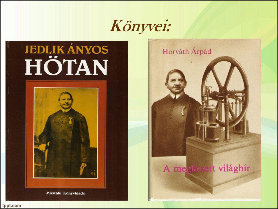 Könyvei: