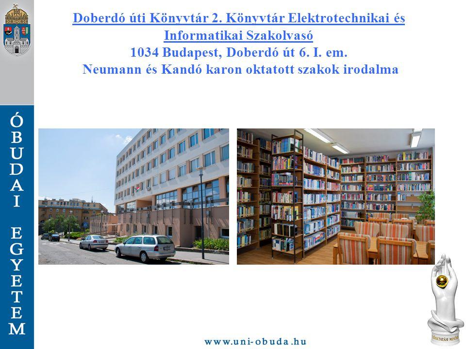 Doberdó úti Könyvtár 2.