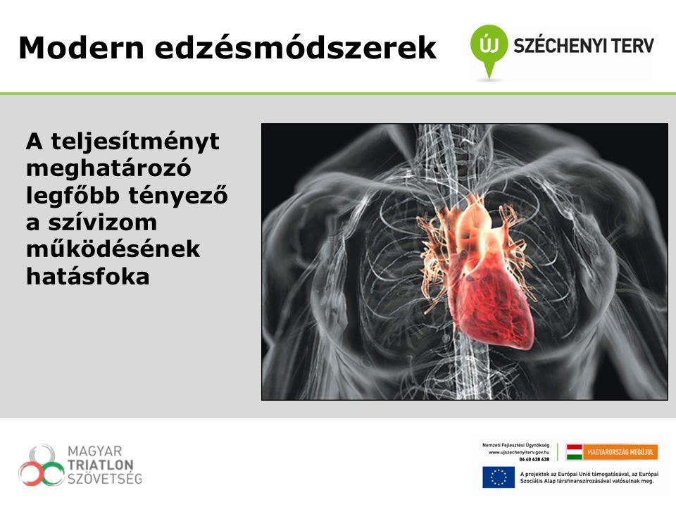 A teljesítményt meghatározó legfőbb tényező a szívizom működésének hatásfoka Modern edzésmódszerek