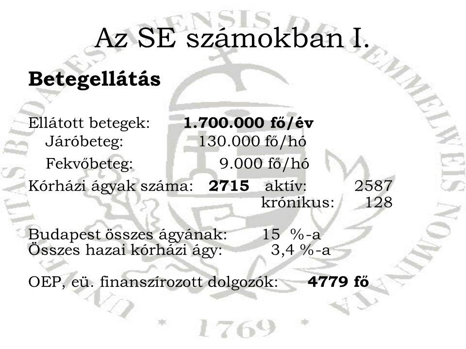 Az SE számokban I.