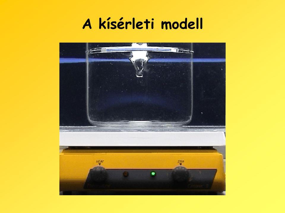 A kísérleti modell