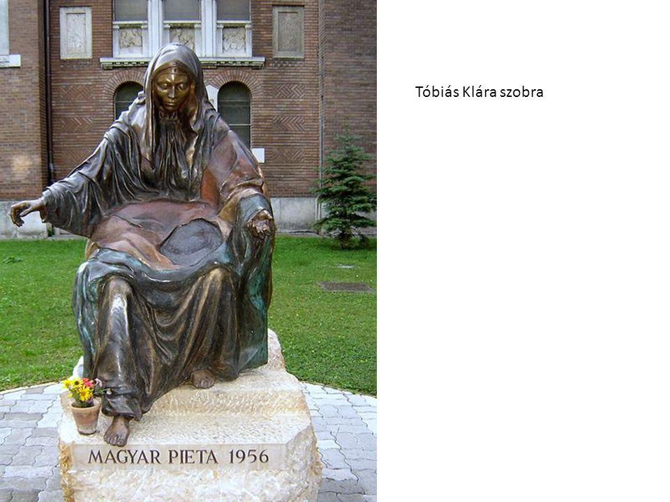 Tóbiás Klára szobra