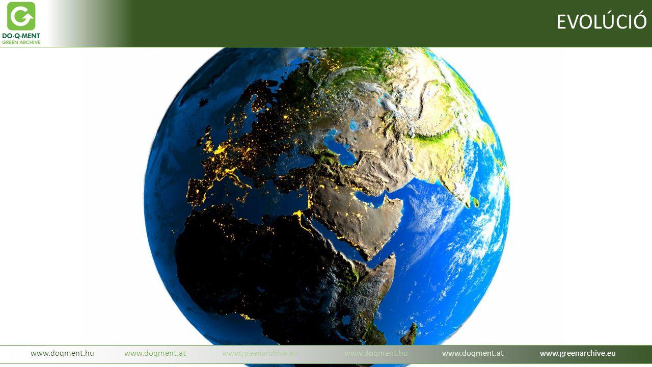 www.doqment.huwww.doqment.atwww.greenarchive.euwww.doqment.huwww.doqment.atwww.greenarchive.eu EVOLÚCIÓ