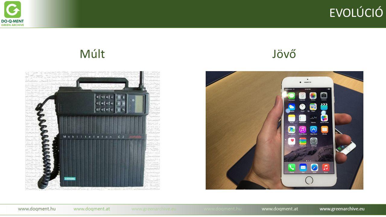 -beruházás mentes igénybevétel havi díj ellenében ( mobil szolgáltatás ) -nagyobb mennyiség esetében egyedi árképzés ( oldal, adat, időbélyeg, tárhely ) -bárhonnan, bármikor elérhető EREDETI dokumentumok ( IBM biztonság ) -feleslegesen fénymásolt dokumentumok teljes mellőzése -dokumentum kezelés és továbbítás felgyorsítása EREDETIBEN www.doqment.huwww.doqment.atwww.greenarchive.euwww.doqment.huwww.doqment.atwww.greenarchive.eu Milyen előnyökkel jár a szolgáltatás: