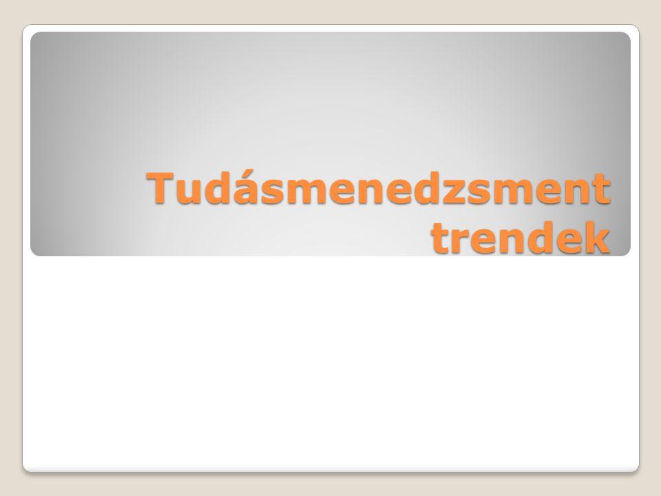 Tudásmenedzsment trendek