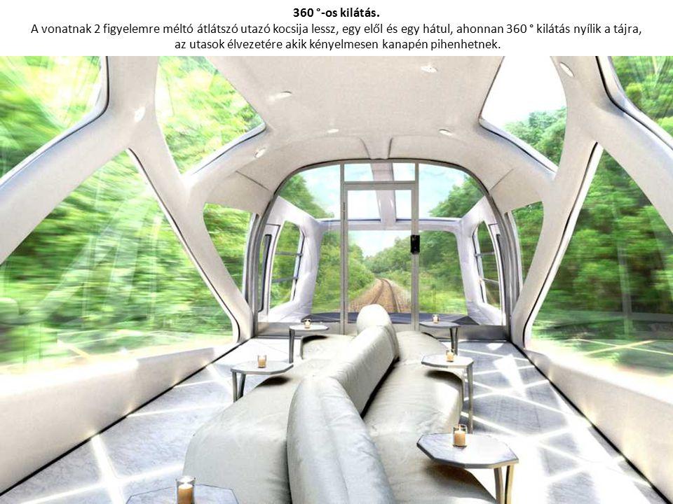 Tíz vagon luxus lakosztályokkal.A vonat 10 vagonból áll, a befogadóképessége 34 utas.