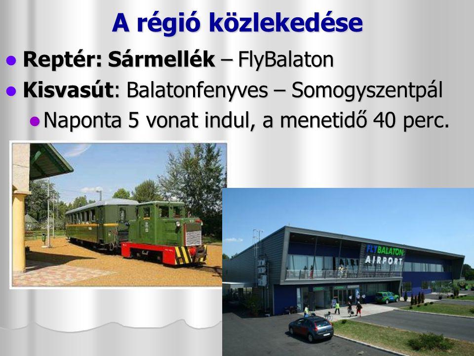 A régió közlekedése A Balatoni Bringakörút a Balatont körülölelő, mintegy 210 km hosszú, végig táblával jelölt útvonal, amely részben kerékpárutakon, részben part menti mellékutakon vezet.