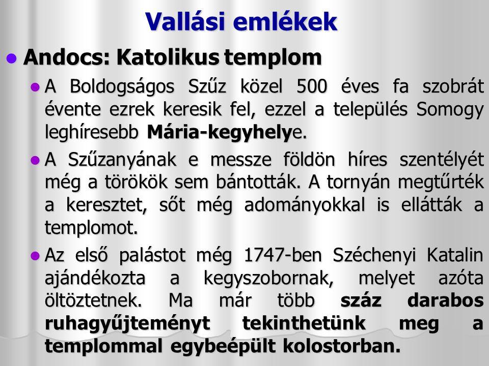 Vallási emlékek Nagyvázsony - Pálos kolostor és gótikus templom: romjaik a település határában találhatók, Kinizsi Pál és felesége, Magyar Benigna építtette mindkettőt.