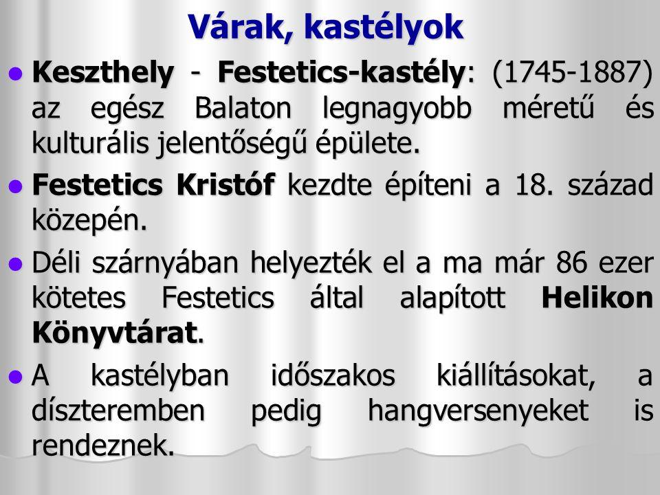 Vallási emlékek Szigliget – Avasi Csonkatorony Szigliget – Avasi Csonkatorony 13.