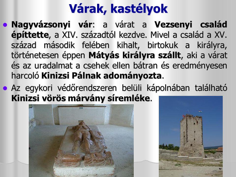Várak, kastélyok Szigligeti vár Szigligeti vár A pannonhalmi bencések a IV.