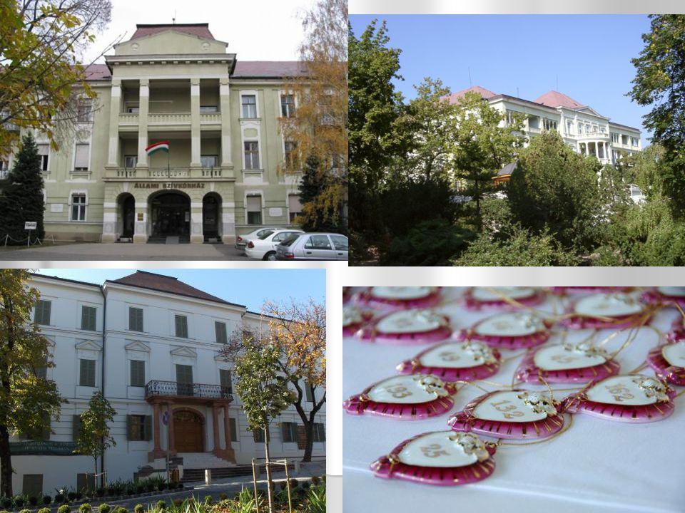 Műemlékek Balatonfüred Balatonfüred Szívkórház: 1912-1913-ban emelték az ivócsarnok mögötti területen.