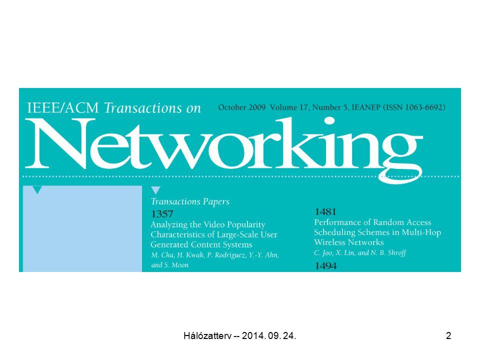 Hálózatterv -- 2014. 09. 24.2