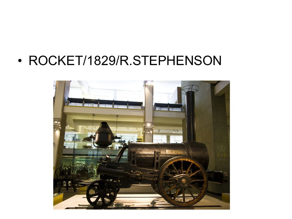 ROCKET/1829/R.STEPHENSON