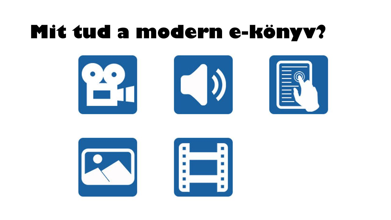 Mit tud a modern e-könyv