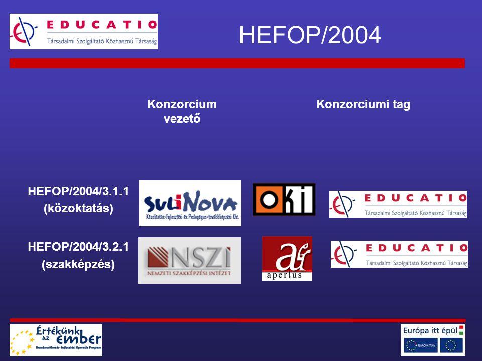 2.fázis: Az SDT tananyagainak tesztelése -Szakmai nap 2006.