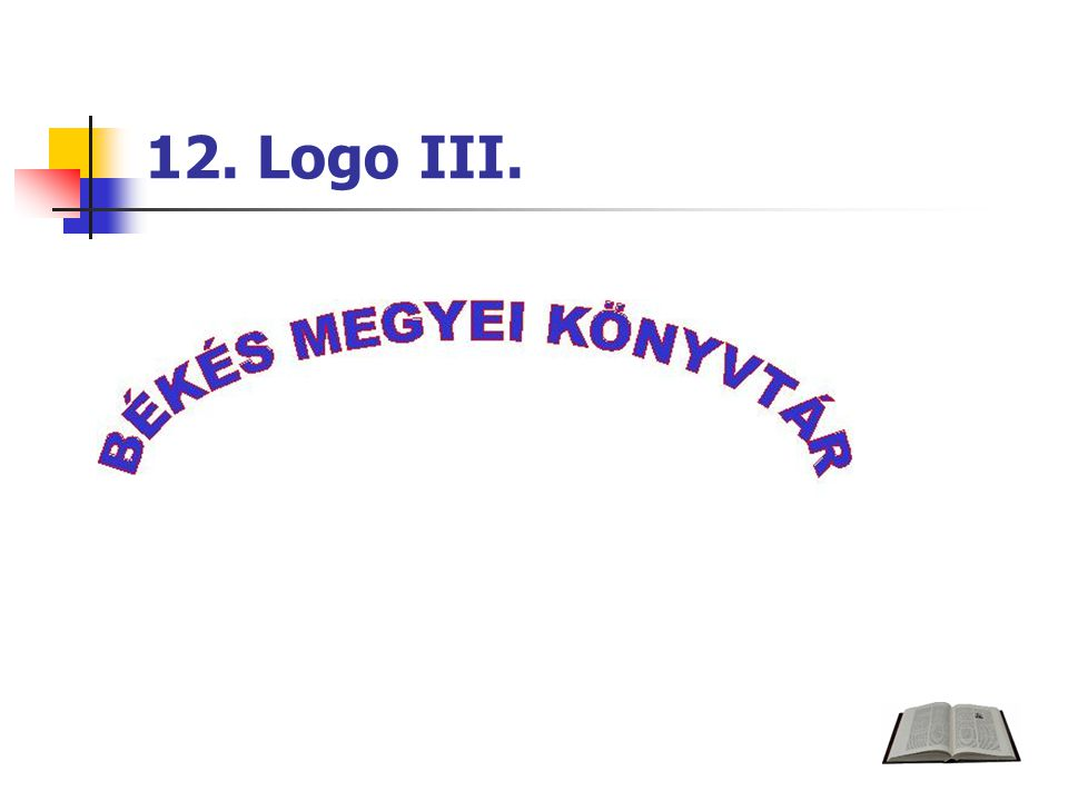12. Logo III.