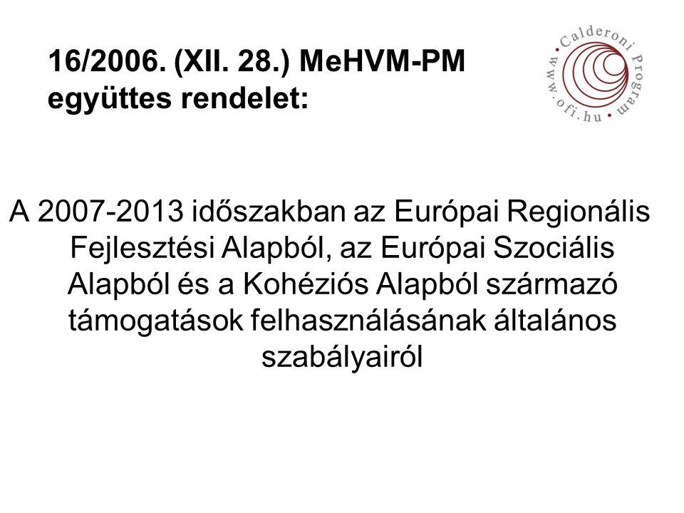 16/2006. (XII.