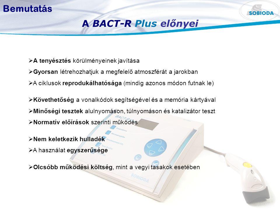 Bemutatás A BACT-R Plus előnyei  A tenyésztés körülményeinek javítása  Gyorsan létrehozhatjuk a megfelelő atmoszférát a jarokban  A ciklusok reprod