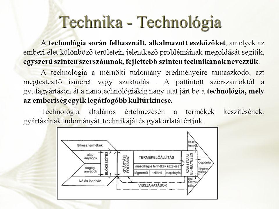 Technológiai korszakok Emberiség kiemelkedése az állatvilágból  tudatos szerszámkészítés Emberiség kiemelkedése az állatvilágból  tudatos szerszámkészítés Történelem előtti idők technikái  kézművesség Történelem előtti idők technikái  kézművesség Középkor  céhek, manufaktúrák technológiái Középkor  céhek, manufaktúrák technológiái Ipari forradalom (gőzgép, villamos energia, nagyüzemek)  gyártástechnológia Ipari forradalom (gőzgép, villamos energia, nagyüzemek)  gyártástechnológia XIX.