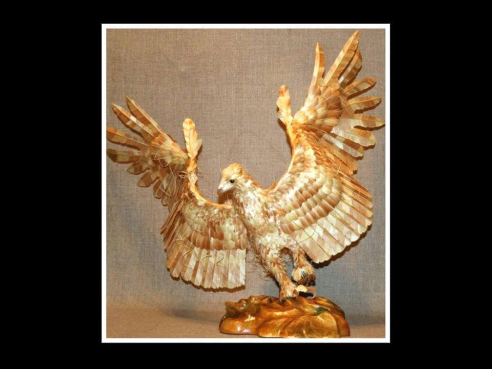 Szergej ezzei már régóta foglalkozik, de eddig csupán néhány szobrot hozott létre, mert egy- egy szobor elkészítése körülbelül hat hónapot vesz igényb