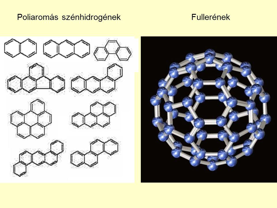 Poliaromás szénhidrogénekFullerének