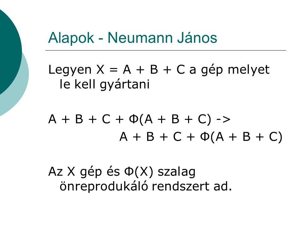 Alapok – Neumann János