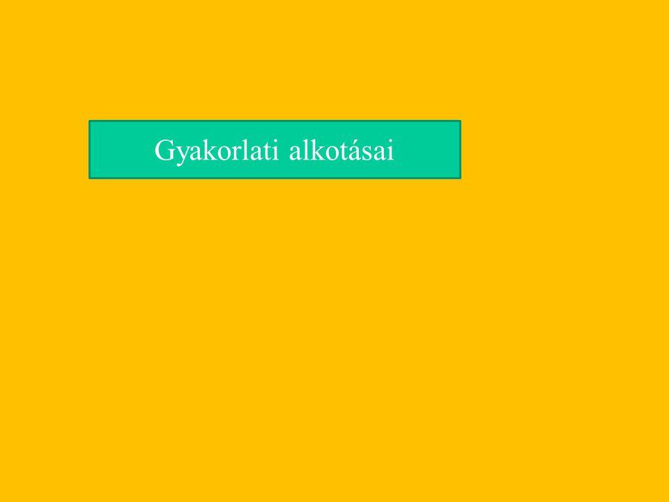 Polgári tulajdonviszonyok (ősiség eltörlése) Nemzeti érdekegyesítés Örökváltság állami kárpótlássál Közteherviselés Független nemzeti állam (Magyarország gazdasági és politikai különállása) Népképviselet Szólásszabadság Önálló nemzeti ipar (védvámok alkalmazása)
