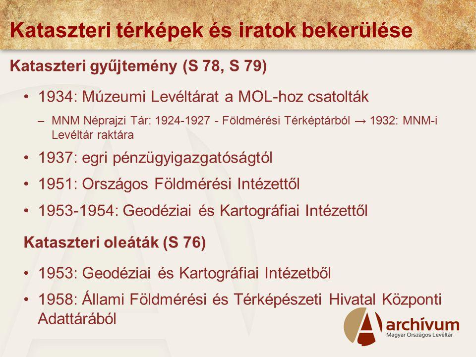 A részletes felmérés Magyarországon 1868