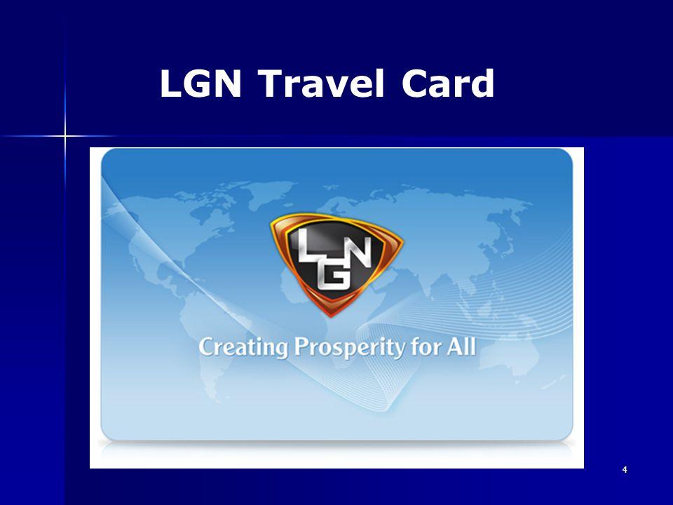 5 AZ LGN ÚJ TERMÉKE TRAVEL CARD TRAVEL CARD Mostantól Önnek sem luxus az utazás.